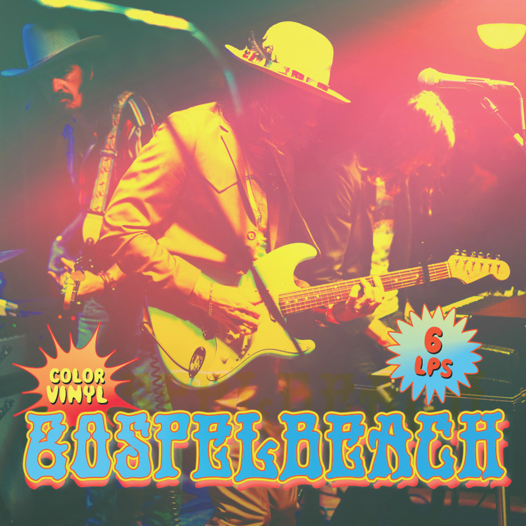 "GOSPELBEACH/BEACHWOOD SPARKS- SUPERBUNDLE WITH AUTOGRAPH & POSTER!- ALL 6 LP DELUXE ""BOX""  SET!"