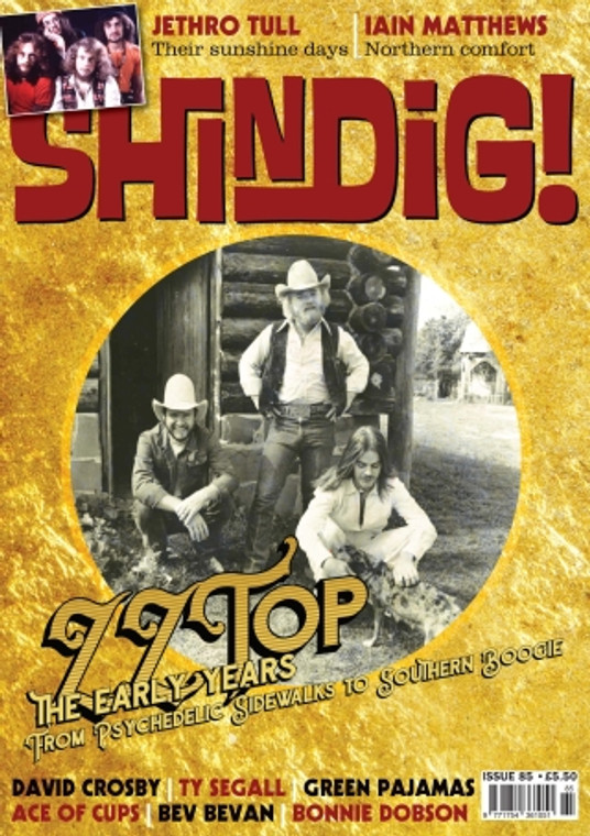 SHINDIG!  - #85- ZZ TOP - BOOKS & MAGS