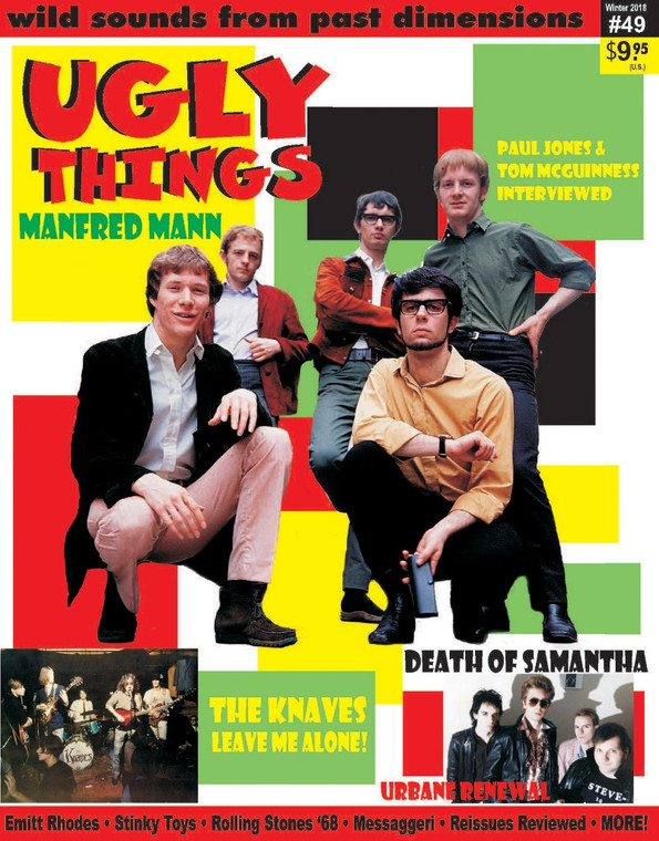 UGLY THINGS  - #49 -MANFRED MANN -BOOKS & MAGS