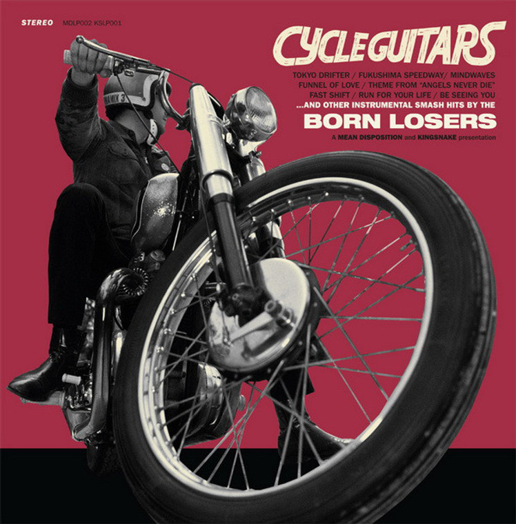 BORN LOSERS  - CYCLE GUITARS  (Davie Allen style) SALE!  CD