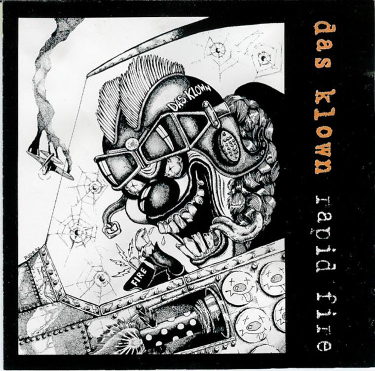 DAS KLOWN   -Rapid Fire (1989 street/hardcore/punk band)  CD