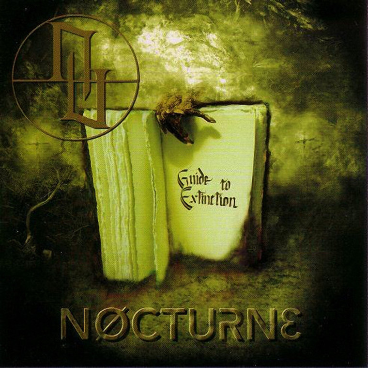 NOCTURNE  - Guide To Extinction (1995 Texas  dark wave /industrial music-  CD