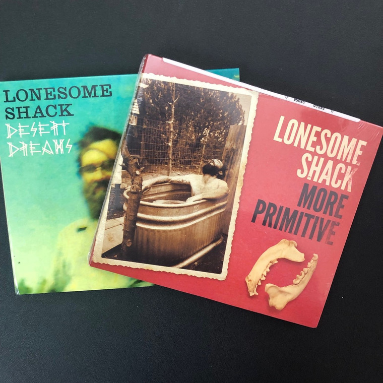 LONESOME SHACK-  BOTH CD BUNDLE !  Great boogie blues