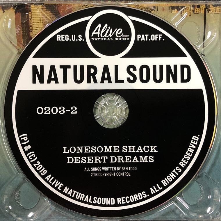 LONESOME SHACK - DESERT DREAMS (Great boogie blues )CD