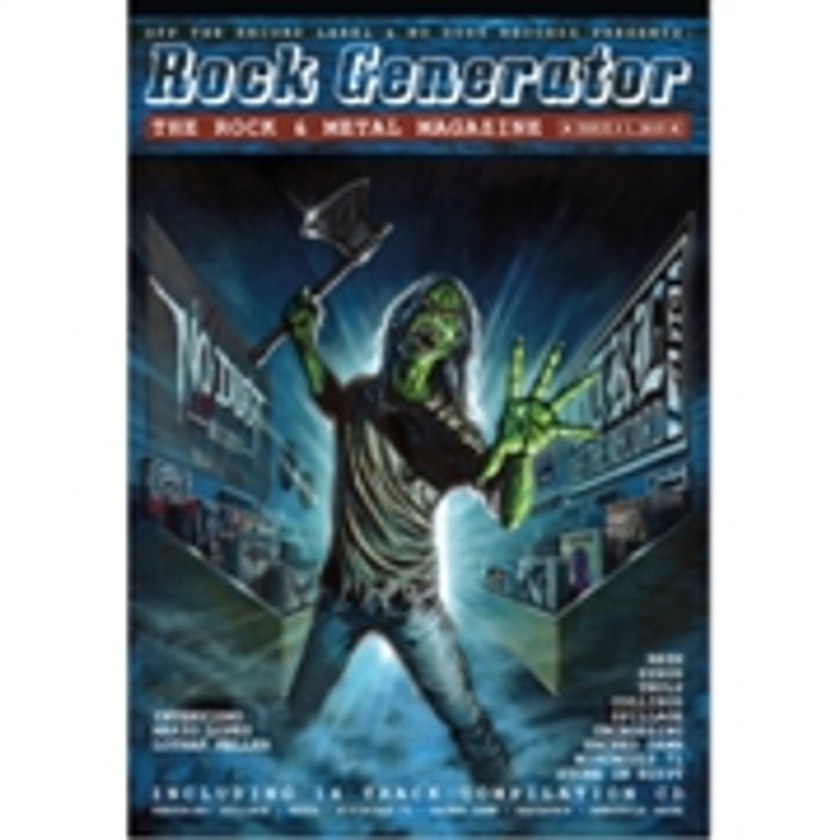 ROCK GENERATOR -ISSUE #1 WITH CD- BOOKS & MAGS