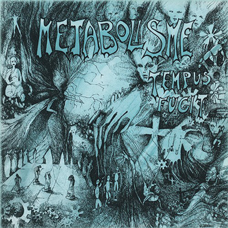 METABOLISME -Tempus Fugit ( 1977 French prog)   LP