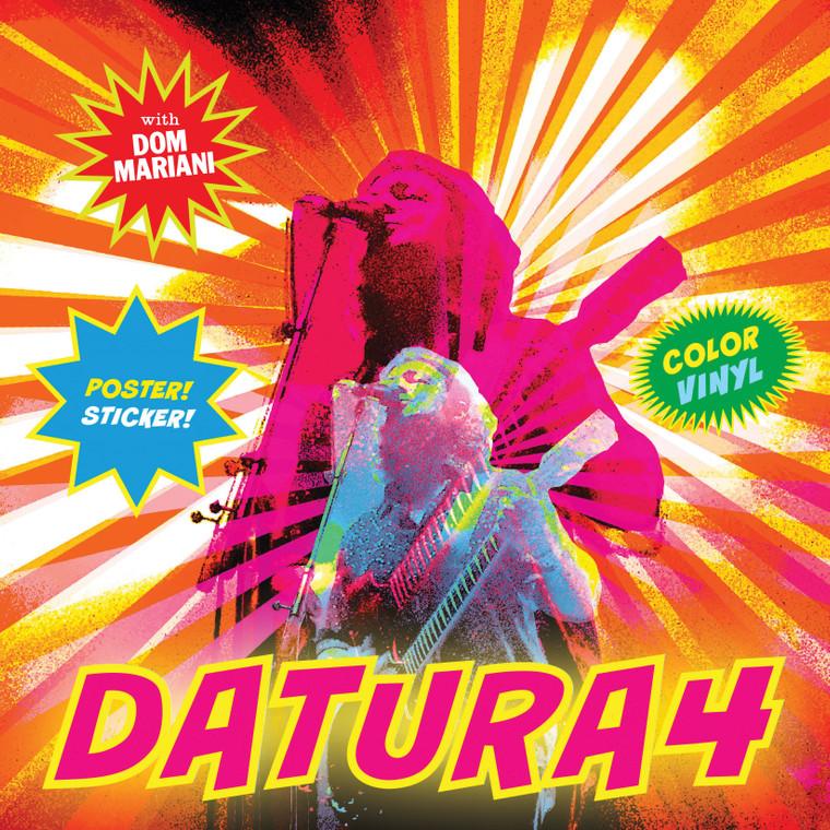 "DATURA4 - FIVE LP ""BOX "" SET w. FREE BONUS DM3  LP, POSTER,& STICKER!"