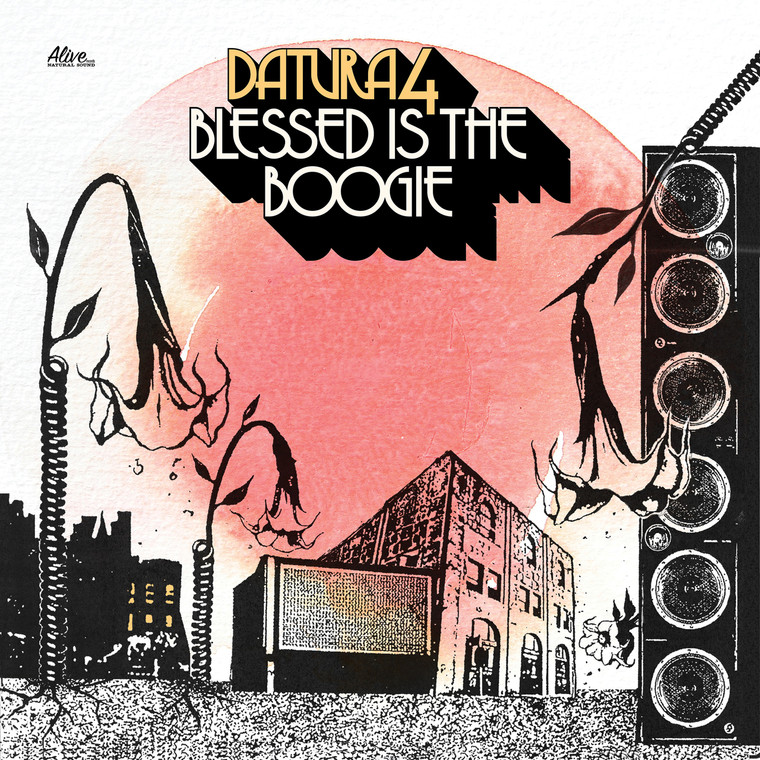 DATURA4  -BLESSED IS THE BOOGIE (70s style psych) BLACK VINYL LP