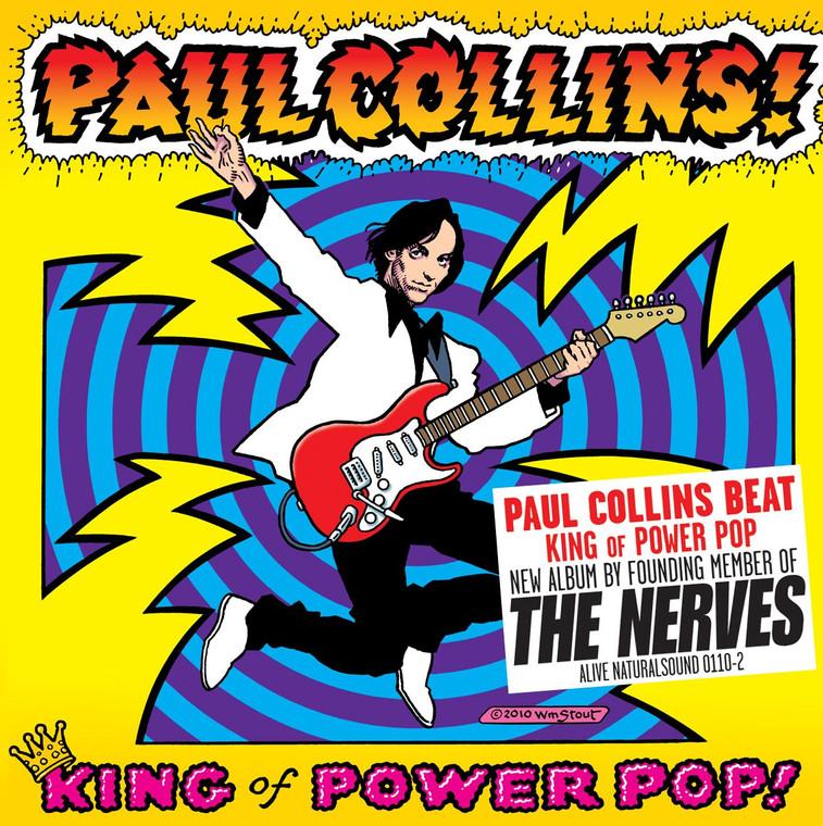 COLLINS, PAUL (NERVES) King Of Power Pop!   BLACK VINYL   LP