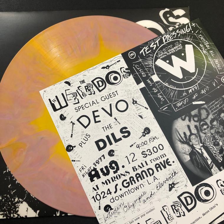 WEIRDOS - Destroy All Music (70s LA PUNK LEGENDS) STARBURST VINYL W. ORIG INSERT!