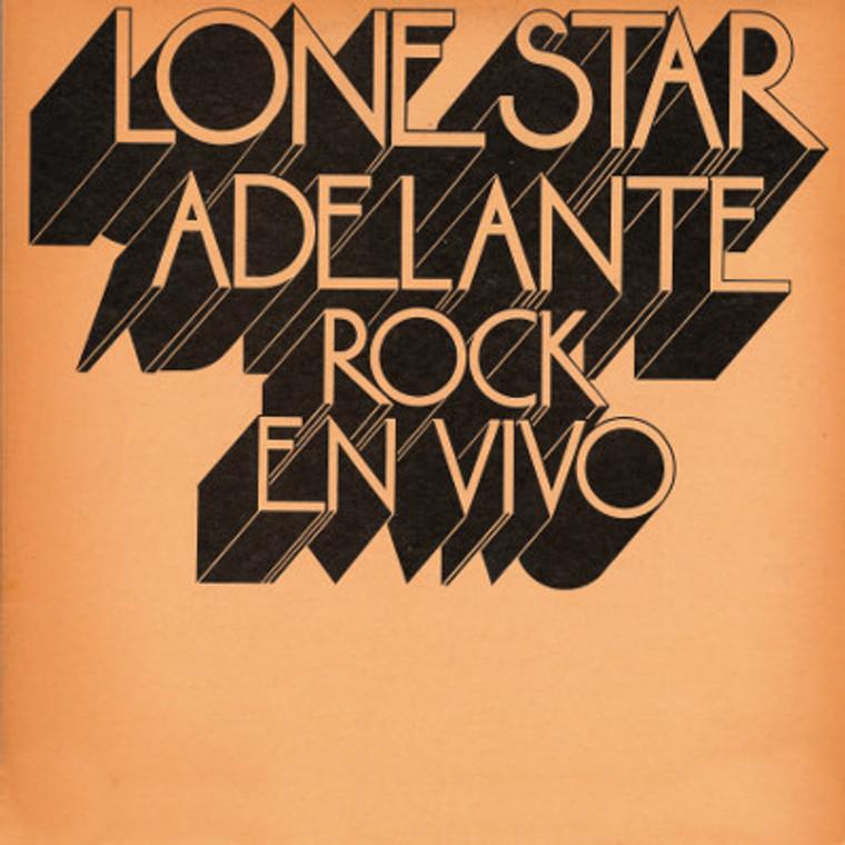 LONE STAR  -ADELANTE ROCK EN VIVO(1973 Spanish hard progrock)  LP