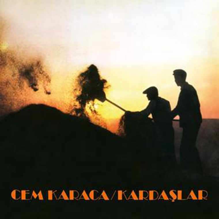 CEM KARACA   -Kardaslar 1974 (TURKISH GUITAR ROCK PIONEER 1960s and 70s) CD