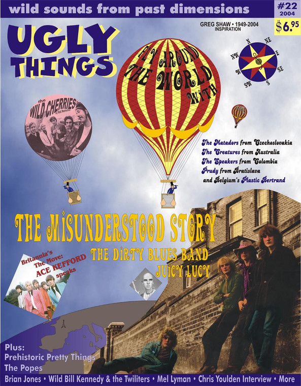 UGLY THINGS  - #22  -THE STORY OF THE MISUNDERSTOOD PART 3  BOOKS & MAGS