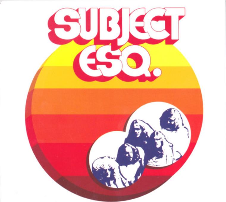 SUBJECT ESQ. -st (1972 fusion prog rock) SALE!  CD
