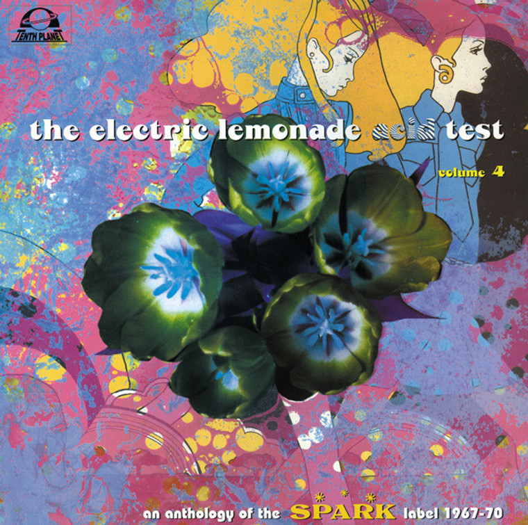 ELECTRIC LEMONADE ACID TEST - VOl 4 (Brit 60s psych- An Anthology Of The Spark Label 1967-1970) COMP LP