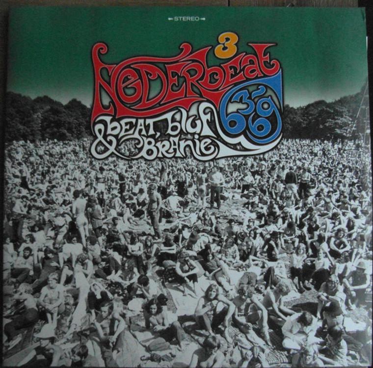 NEDERBEAT:BEAT,BLUF & BRANIE  Vol 3  (60s Dutch LTd to 500 )GREEN  DBL COMP LP