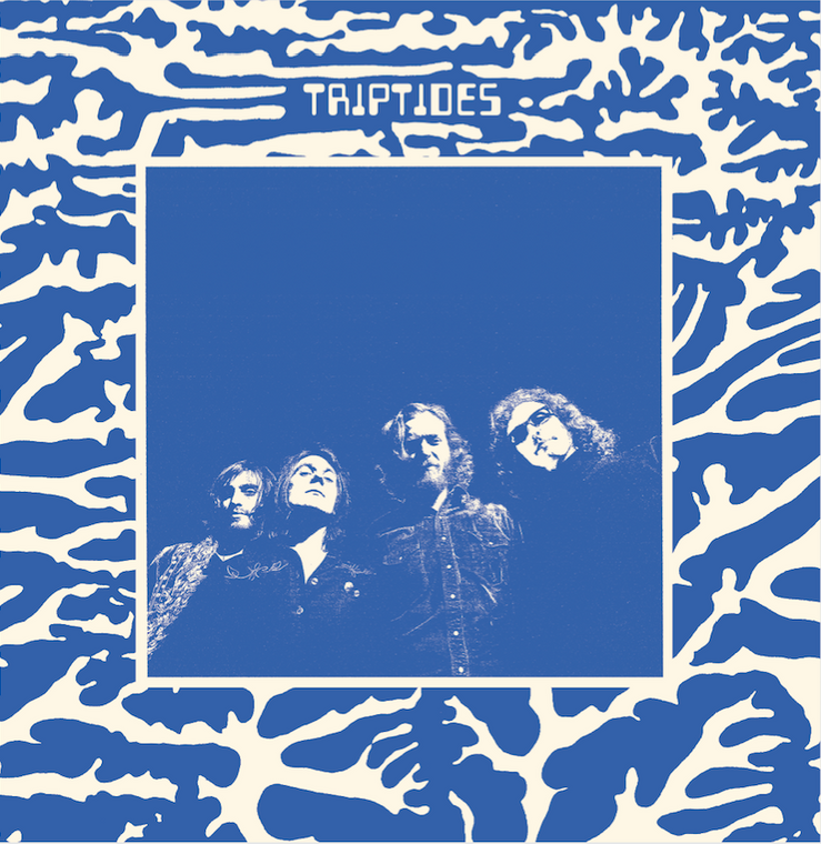 TRIPTIDES-Nirvana Now (sun-drenched psych) 45 RPM
