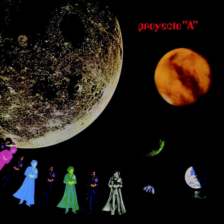PROYECTO A   -Proyecto  A& B  (1974 Spanish Cosmic, acid-psych-soul-funk-prog)-SALE! CD