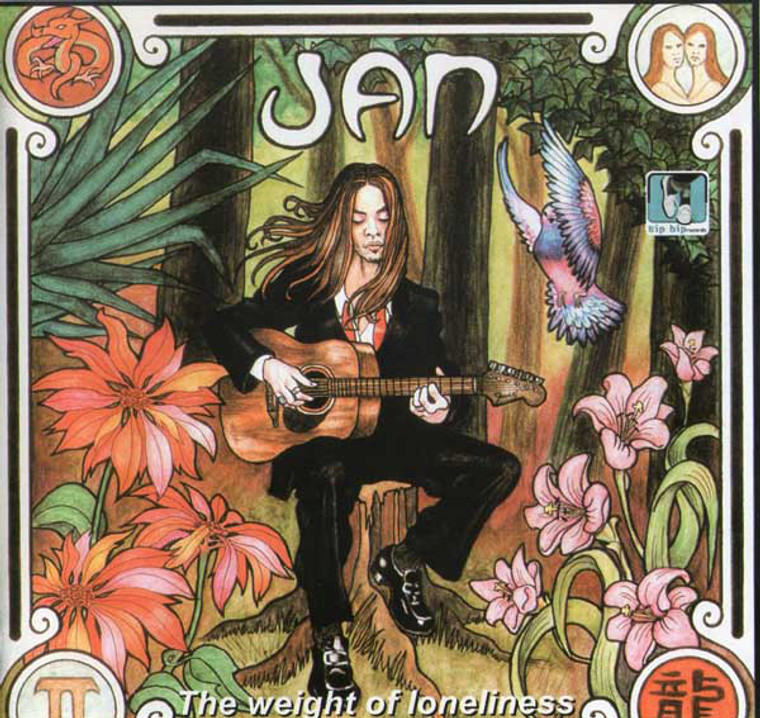 JAN  -WEIGHT OF LONELINESS (T-Rex, David Bowie, Led Zep style)   CD