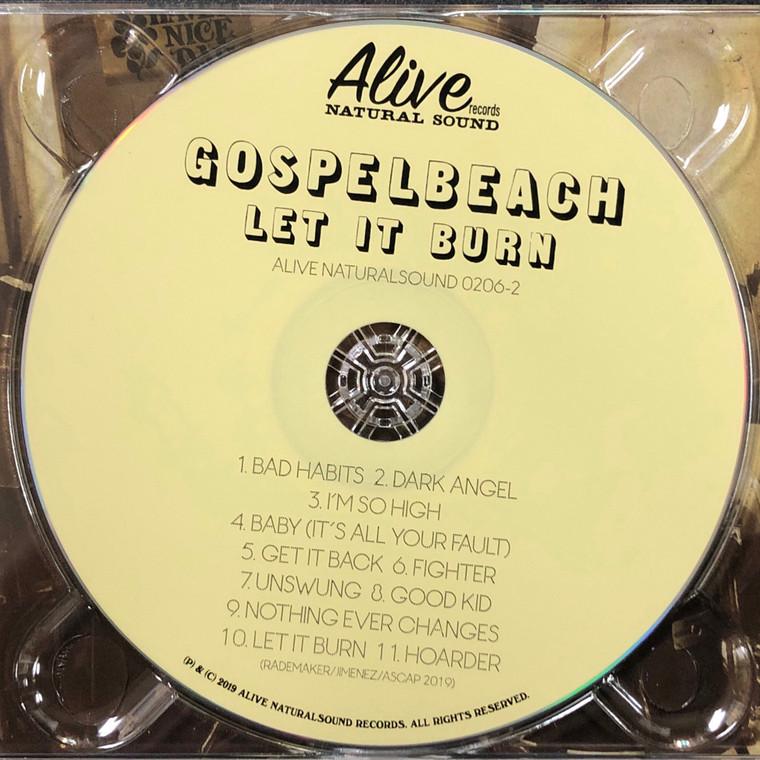 GOSPELBEACH  - Let It Burn -WITH NEAL CASAL- CD