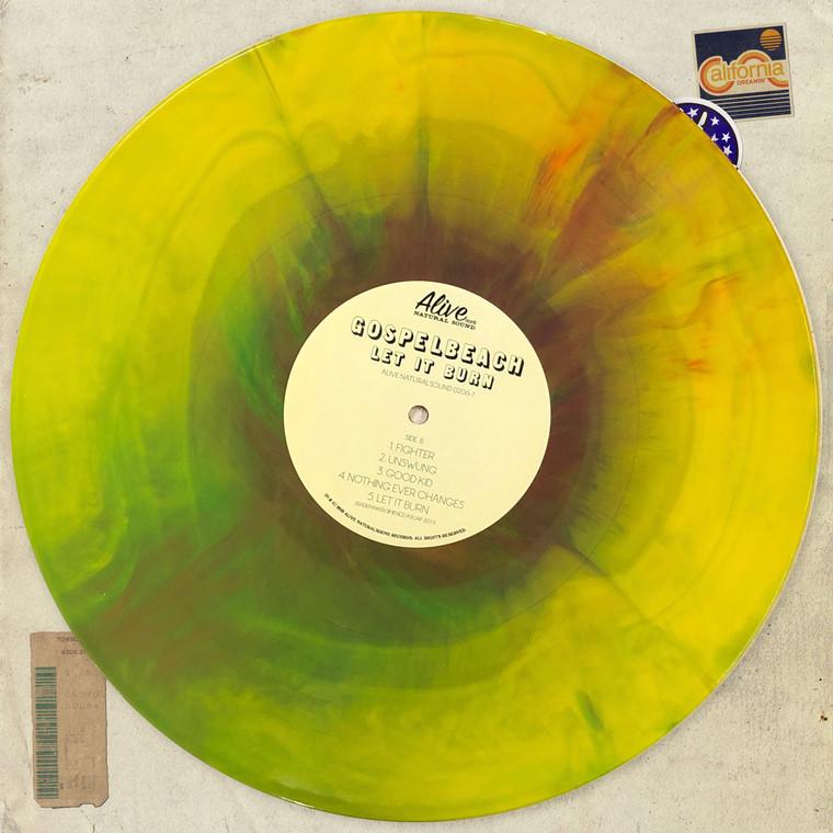 GOSPELBEACH  - Let It Burn( L.A. Petty style with Neal Casal) STARBURST   LP