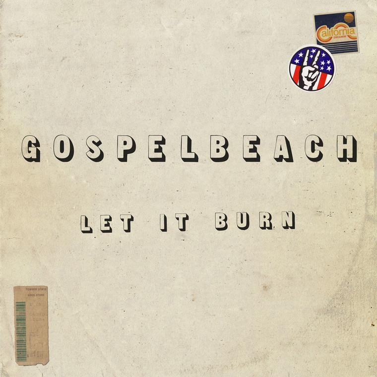GOSPELBEACH  - Let It Burn - CLASSIC BLACK  VINYL