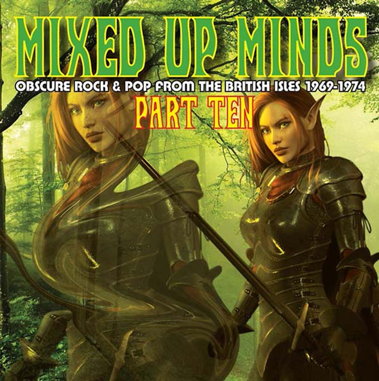 MIXED UP MINDS   - PART 10 Obscure Rock & Pop from the British Isles 1969-1974-  COMP CD