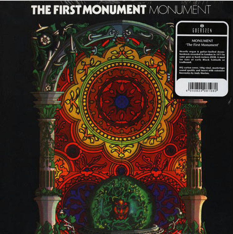 MONUMENT  - First Monument (London 1971  hard rock)  LP