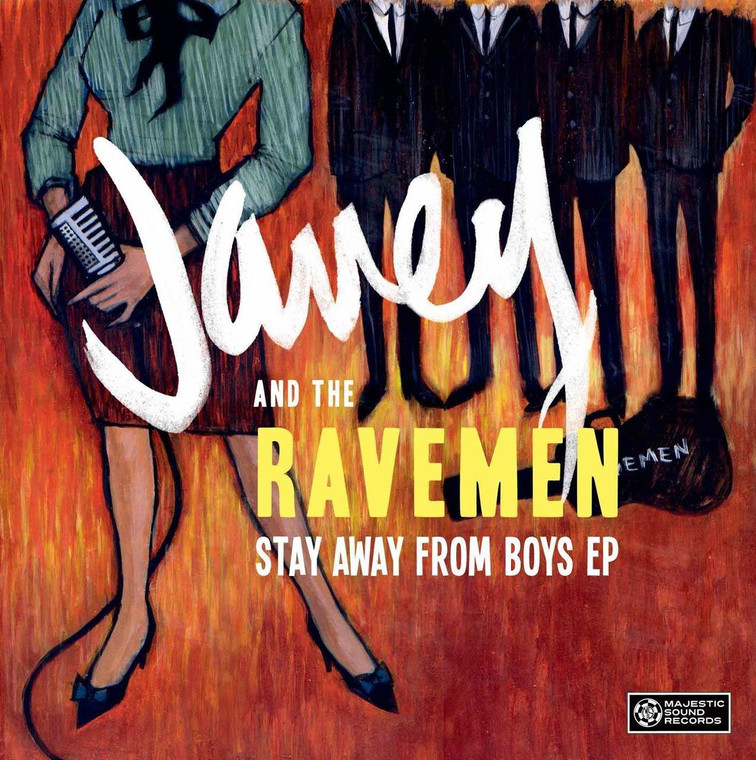 JANEY & THE RAVEMEN   -STAY AWAY FROM BOYS (1964 style)  SALE! CD