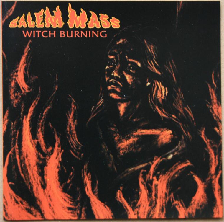 SALEM MASS - Witch Burning (1971 Fuzz vocals, heavy organ) CD
