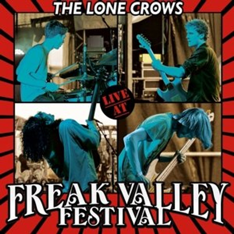 LONE CROWS   - LIVE AT THE FREAK VALLEY(heavy guitar driven west-coast style )SALE! CD