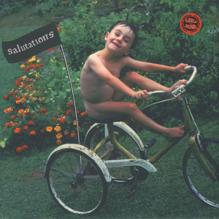 SUN & THE WOLF  -SALUTATIONS (fuzz driven psych Beatles era)CD