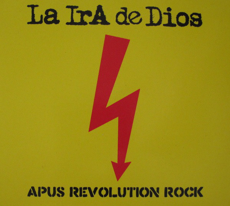 "LA IRA DE DIOS  - APUS REVOLUTION ROCK + 7""EP (Peruvian 60s psych/space freaks) LP"