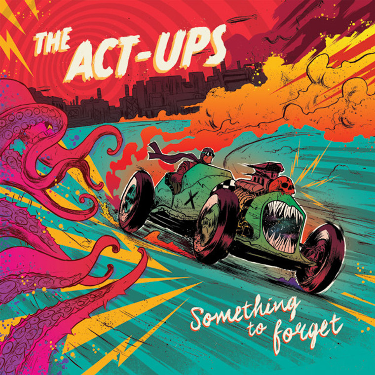 ACT-UPS- Something To Forget LP + 7-inch (Iggy/Pickett/style) SAALE- BIG CORNER BEND  DISCOUNT!   LP