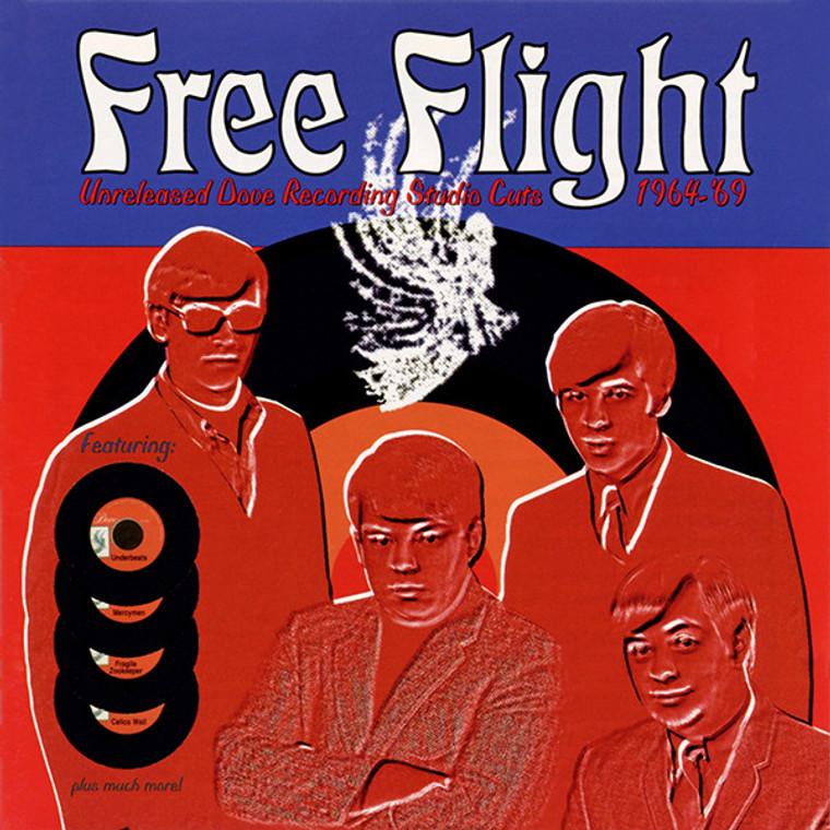 FREE FLIGHT - UNRELEASED DOVE RECORDING STUDIO CUTS 1964-69( rare 70s  power-pop, mod, and new wave singles)COMP CD