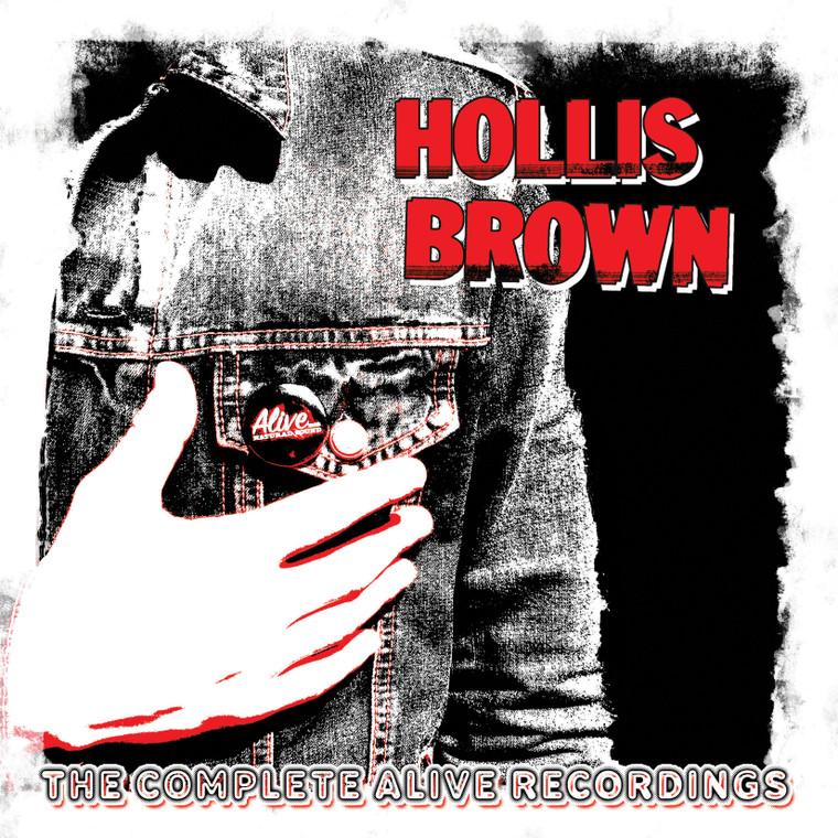 "HOLLIS BROWN  - The Complete Alive Recordings - 3 LP ""BOX ""SET with  BONUS SURPRISE LP -Amazing British Invasion-influenced pop"