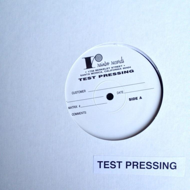 BEYOND THE CALICO WALL   V/A TEST PRESSING  1990 (VOXX 200.051) 60s acid-punk sampler)   COMP LP