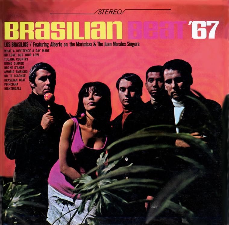 LOS BRASILIOS   Brasilian Beat 67-  CD
