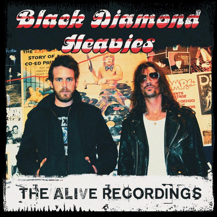 BLACK DIAMOND HEAVIES -  BOX SET!  ALL 3  ALIVE LPS  W. FREE  BONUS LP