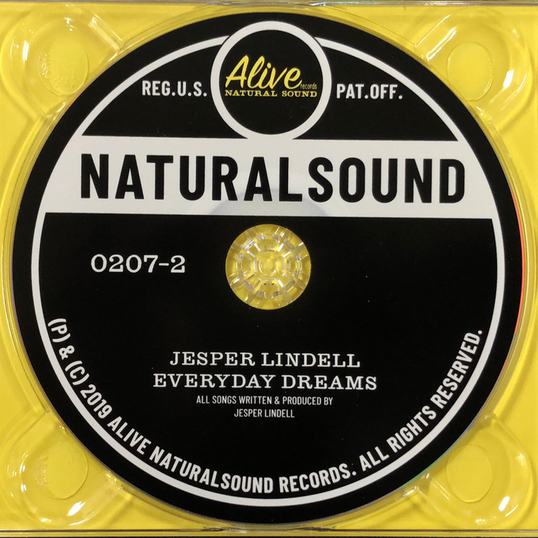 LINDELL, JESPER  -EVERYDAY DREAMS -A groovy nugget of throwback soulful rock and roll -CD W  BONUS TRACKS