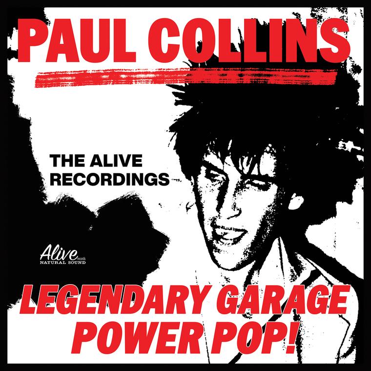 COLLINS, PAUL  (NERVES) DELUXE 4 LP BOX SET! PLUS FREE  POSTER!