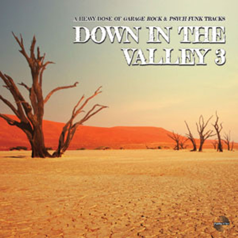DOWN IN THE VALLEY  Vol 3-A heavy dose of Garage Rock & Psych-Funk tracks-  COMP LP