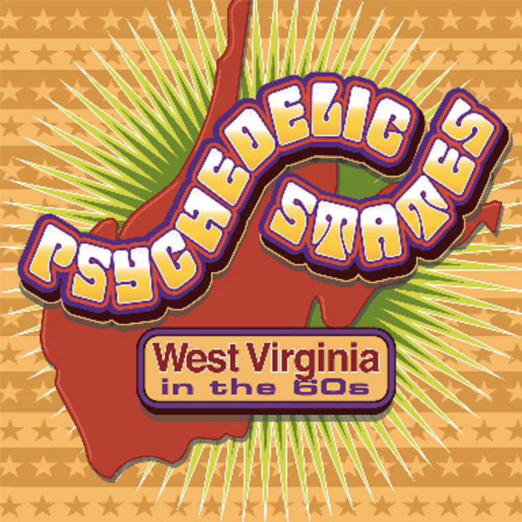 PSYCHEDELIC  STATES: WEST VIRGINIA (77 minutes of  60s garage psych)  COMP CD