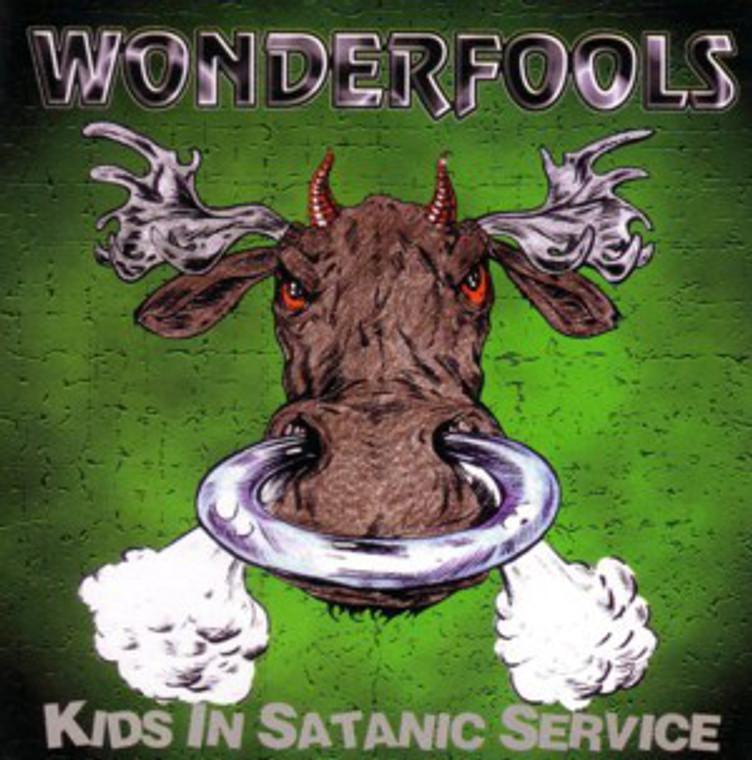 WONDERFOOL  -KIDS IN SATANIC SERVICE (for fans of TURBONEGRO, GLUECIFER, KISS, AC/DC and high energy punk'n'roll )  CD