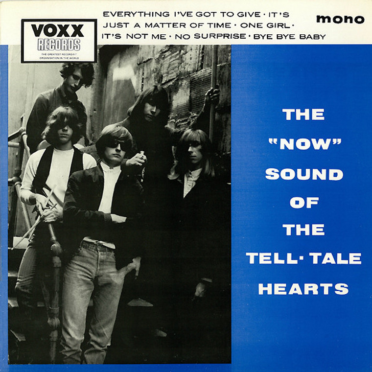 TELL TALE HEARTS  - Now SOund ORIG PRESSING  1985-WAREHOUSE FIND -   LP