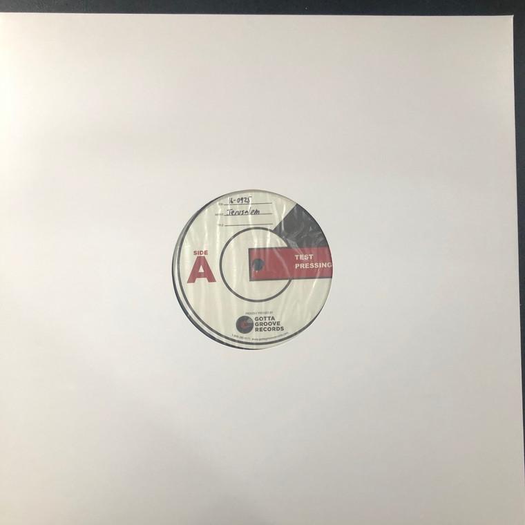 JERUSALEM    -Gotta Groove version (third) with jackets LION TEST PRESSING (1972 heavy masterpiece of underground British rock)  LP