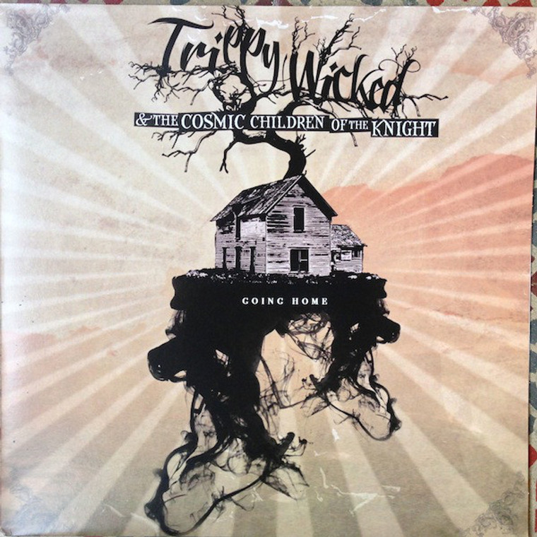 TRIPPY WICKED & THE COSMIC CHILDREN OF THE KNIGHT   -GOING HOME(Stoner classic rock style)  CD
