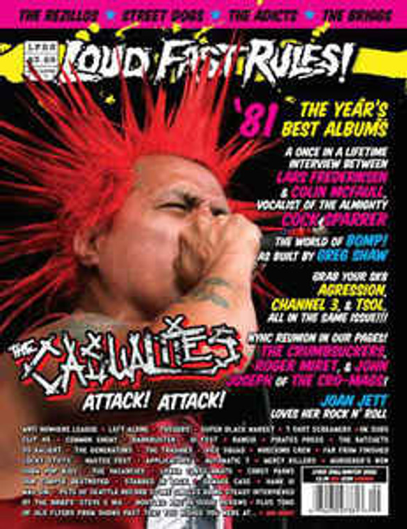 LOUD FAST RULES- Fall 2006 (no CD)With article about BOMP & GREG SHAW - BOOKS & MAGS