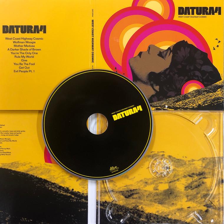 DATURA4  - WEST COAST HIGHWAY COSMIC - DIGIPACK CD