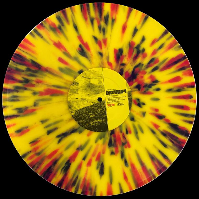 DATURA4  - WEST COAST HIGHWAY COSMIC - AMAZING LTD ED SPLATTER VINYL!  (70s style psych)